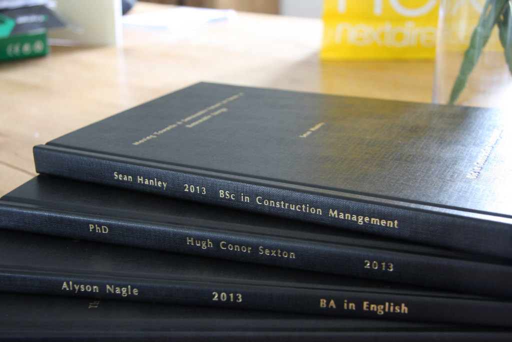 binding dissertation leeds